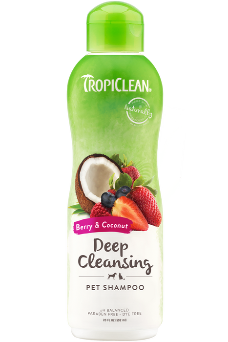 TropiClean Berry & Coconut Shampoo