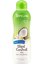 Load image into Gallery viewer, TropiClean Lime & Coconut Shampoo