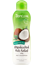 Load image into Gallery viewer, TropiClean Oatmeal & Tea Tree Shampoo (Dogs Only)