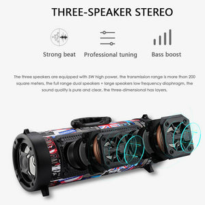 Portable High-Power Bluetooth Speaker - Free Shipping