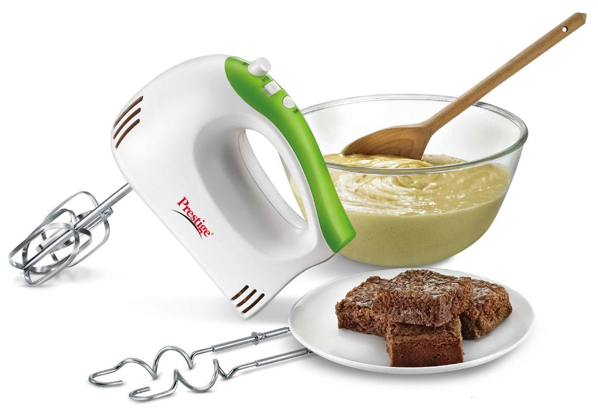 Prestige PHM 1.0 250-Watt Hand Blender with One Touch Turbo Button (Green White) - Kasa's Mart