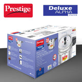 Prestige Svachh, 20255, 5 L, Deep Pressure Pan, with deep lid for Spillage Control