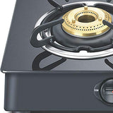 Prestige Marvel Plus Glass 2 Burner Gas Stove (Black) - Kasa's Mart