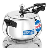 Hawkins Stainless Steel Contura Induction Compatible Pressure Cooker, 5 Litre, Silver (SSC50) - Kasa's Mart