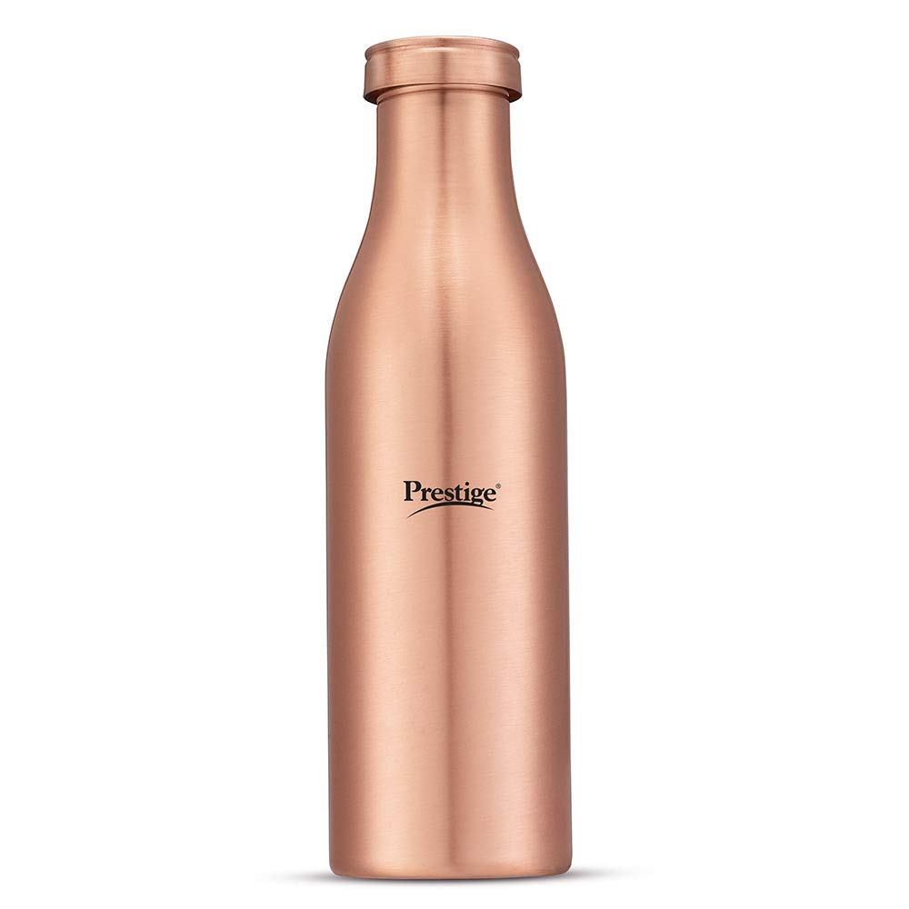 Prestige Tattva Copper Bottle, 950ml, Reddish Brown