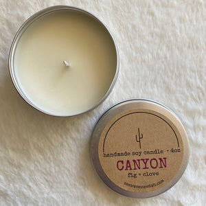 Candle - Canyon