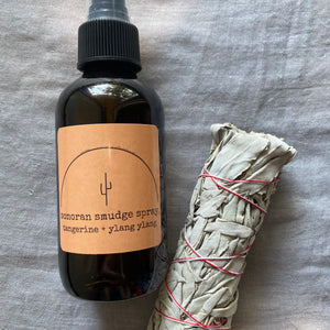 Smudge Spray - Tangerine + Ylang Ylang (2 ounces)