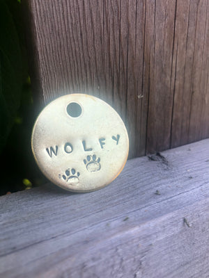 Personalized Pet Tag-My Dogs Cafe