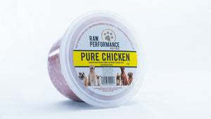 Pure Chicken Raw Dog Food
