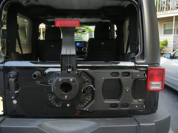 TeraFlex JK HD Aluminum Hinged Carrier