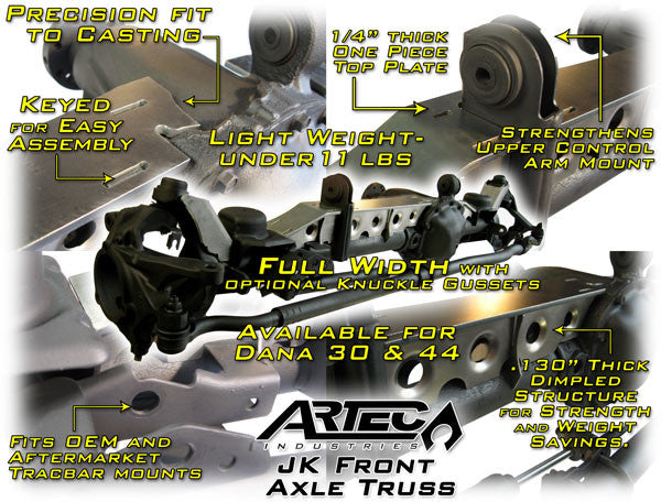 Jeep JK front axle truss