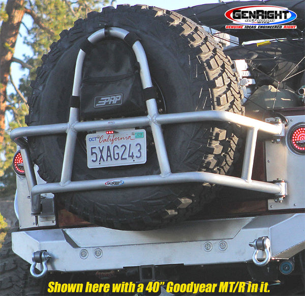 JK Rear Tire Carrier