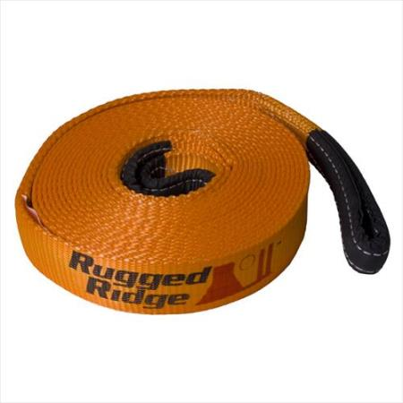Rugged Ridge Recovery Strap (Orange) - 15104.01