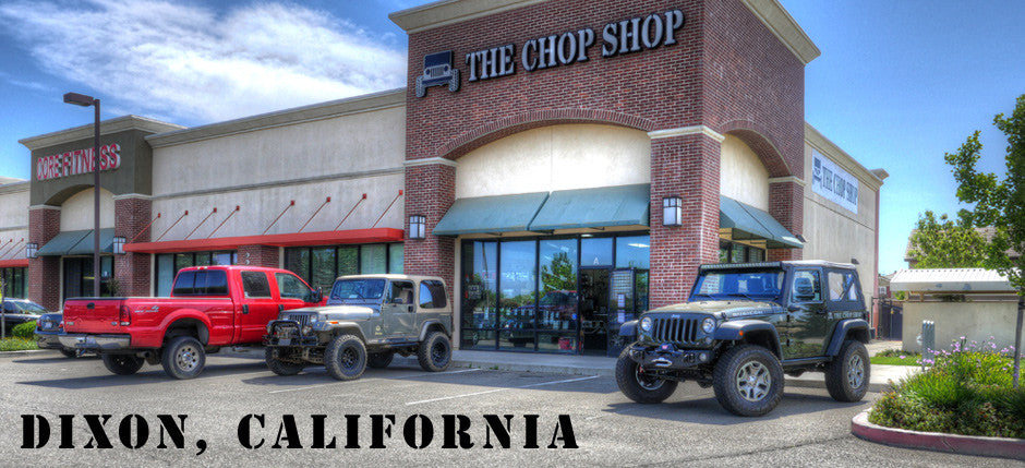 The Chop Shop assists off-road and 4x4 adventurers