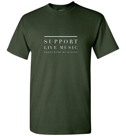 Support Live Music, Sleep With Musicians