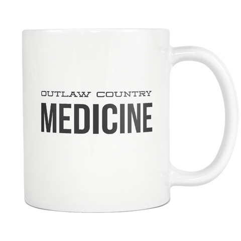 Outlaw Country Medicine Mug