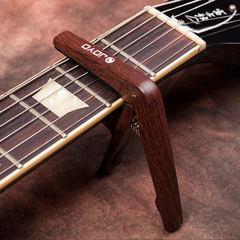 JOYO Stylish Wood Shade Guitar Capo