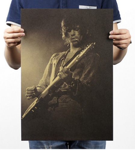Vintage Keith Richards Poster