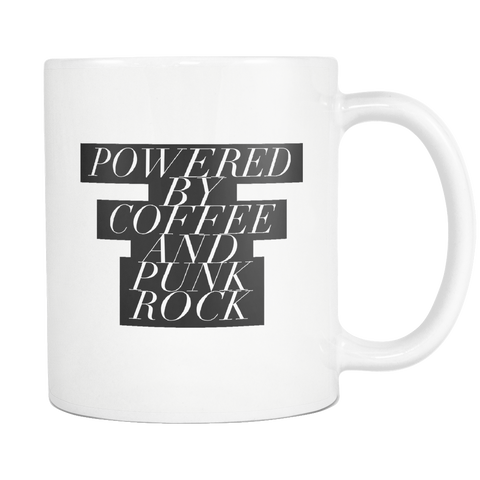 Powered By Coffee And Punk Rock