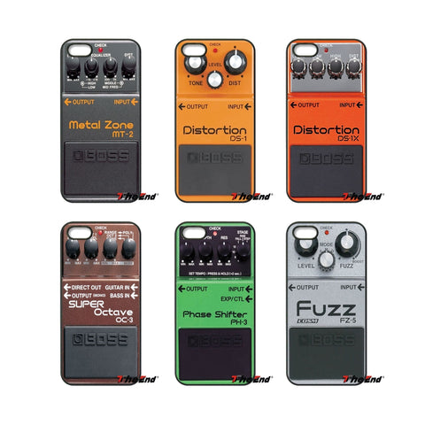 Boss Pedal Phone Covers
