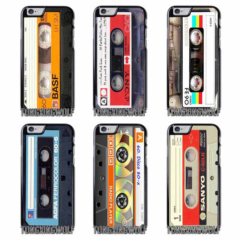Cassette Tape iPhone Covers