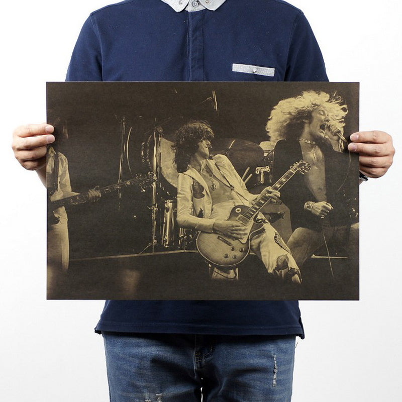 Led Zep Jimmy Page Poster