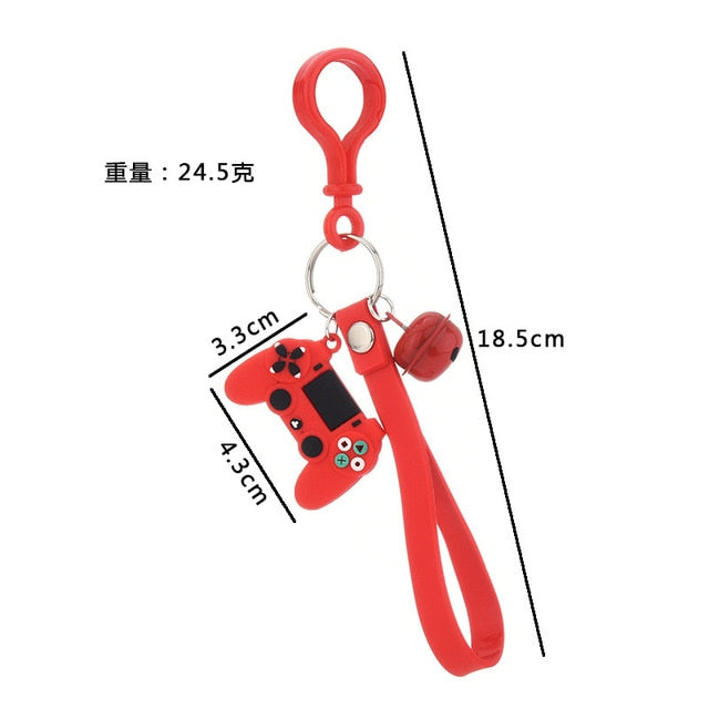 New creative personality simulation game keychain ring pendant men and women couple key chain bag pendant wholesale