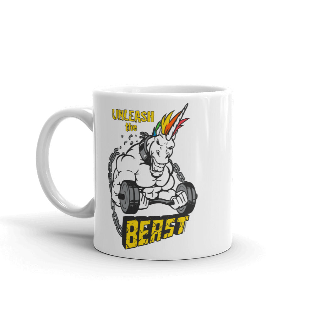 Unleash the Beast Mug by Unicorn Muscle