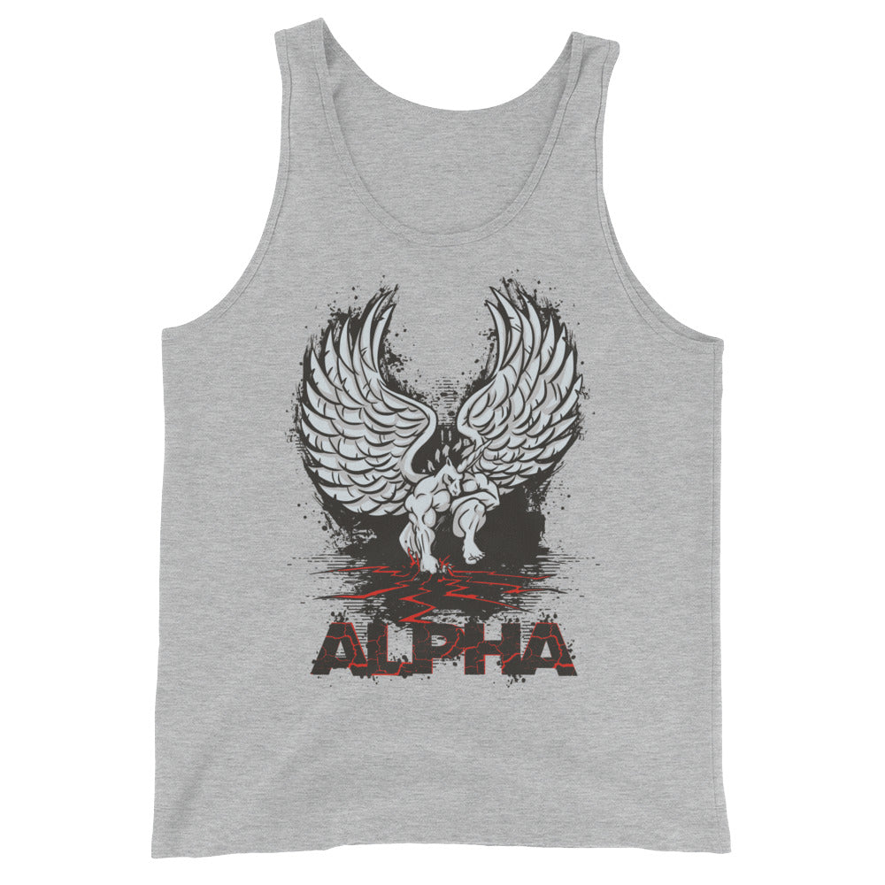 Alpha Tank Top by Unicorn Muscle