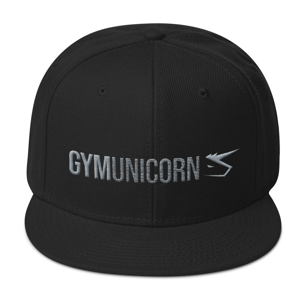 Gym Unicorn Snapback Hat by Unicorn Muscle