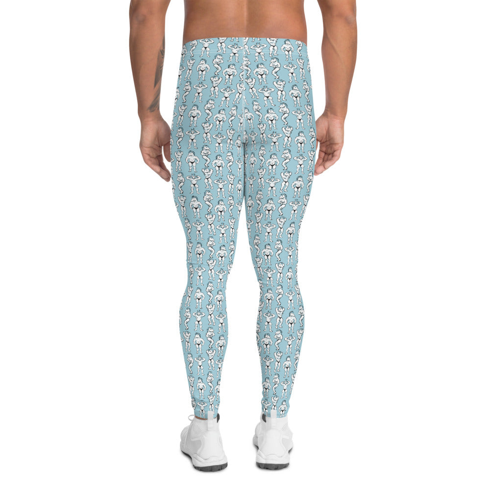 Unicorn Poses Men's Leggings by Unicorn Muscle
