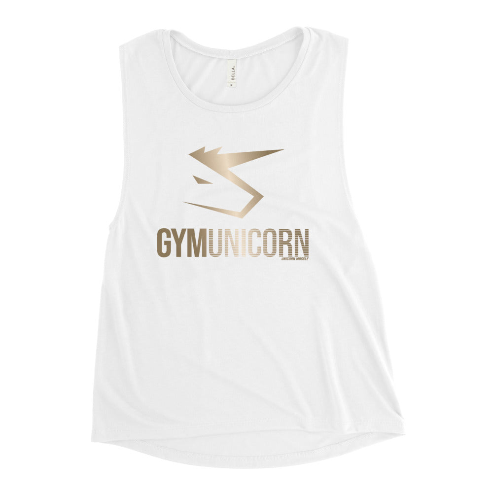 Gym Unicorn Women's Muscle Tank by Unicorn Muscle