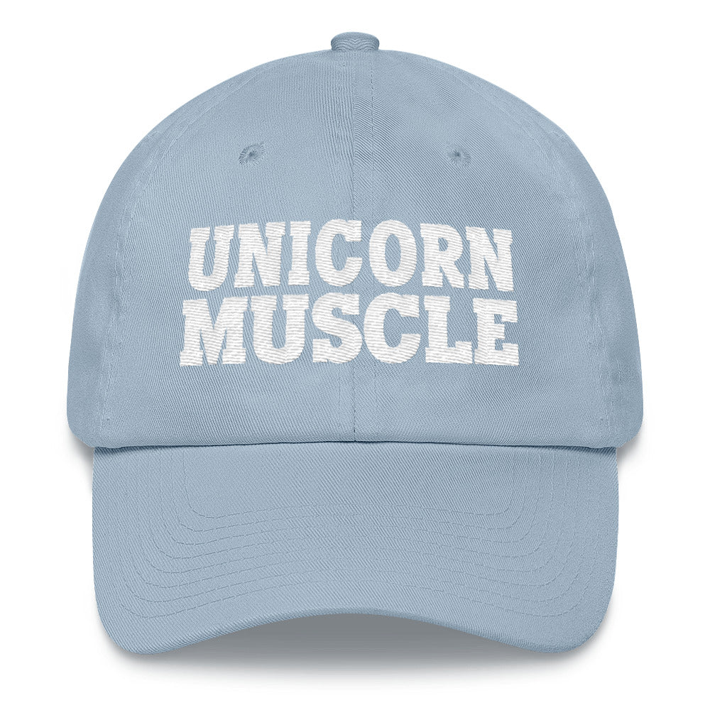 Unicorn Muscle Dad Hat by Unicorn Muscle