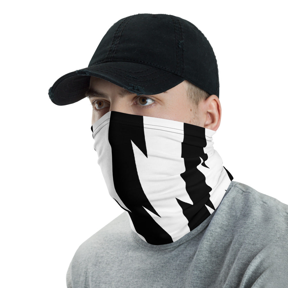 Unicorn Lightning Neck Gaiter Mask by Unicorn Muscle