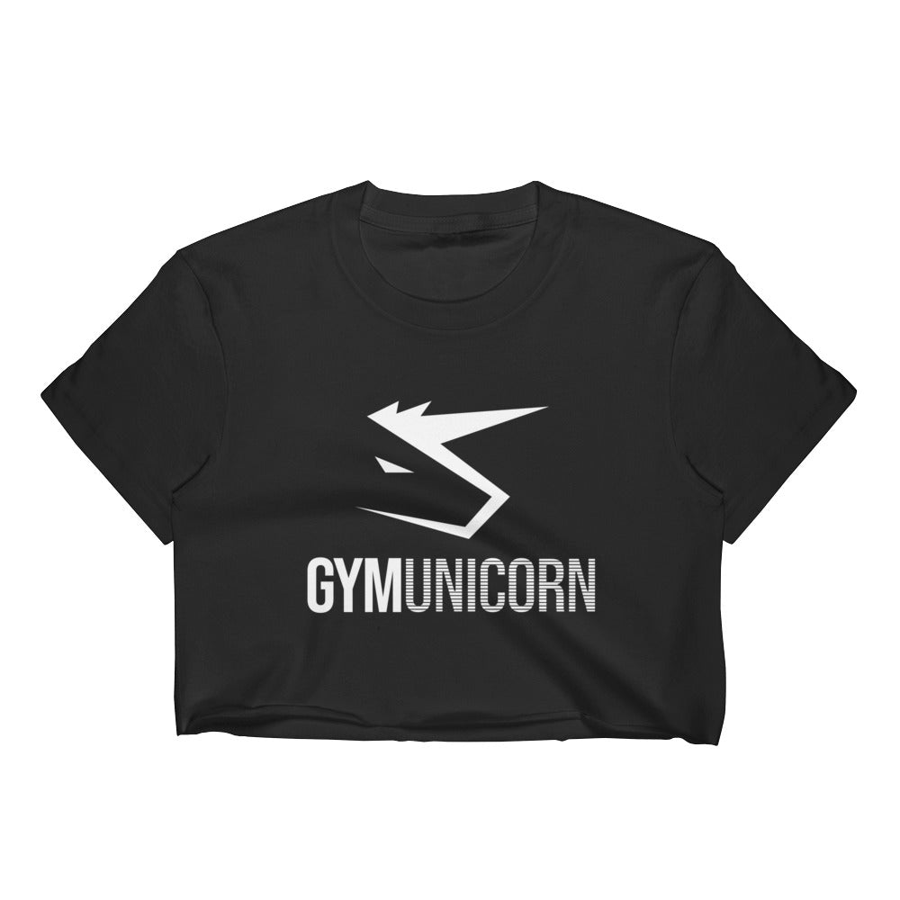 Gym Unicorn Crop Tee by Unicorn Muscle