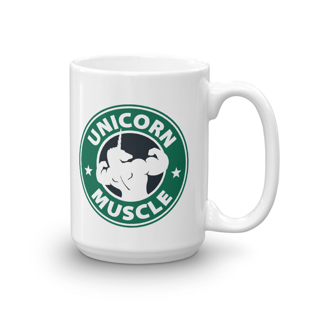 Unicorn Coffee Mug by Unicorn Muscle