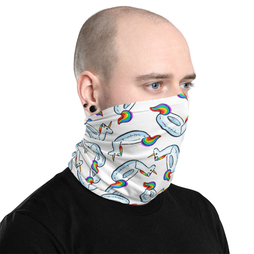 Unicorn Summer Neck Gaiter by Unicorn Muscle