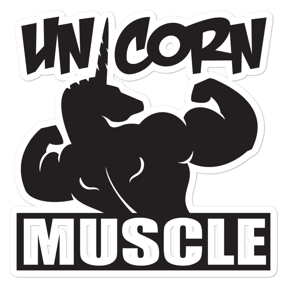 Logo Sticker by Unicorn Muscle