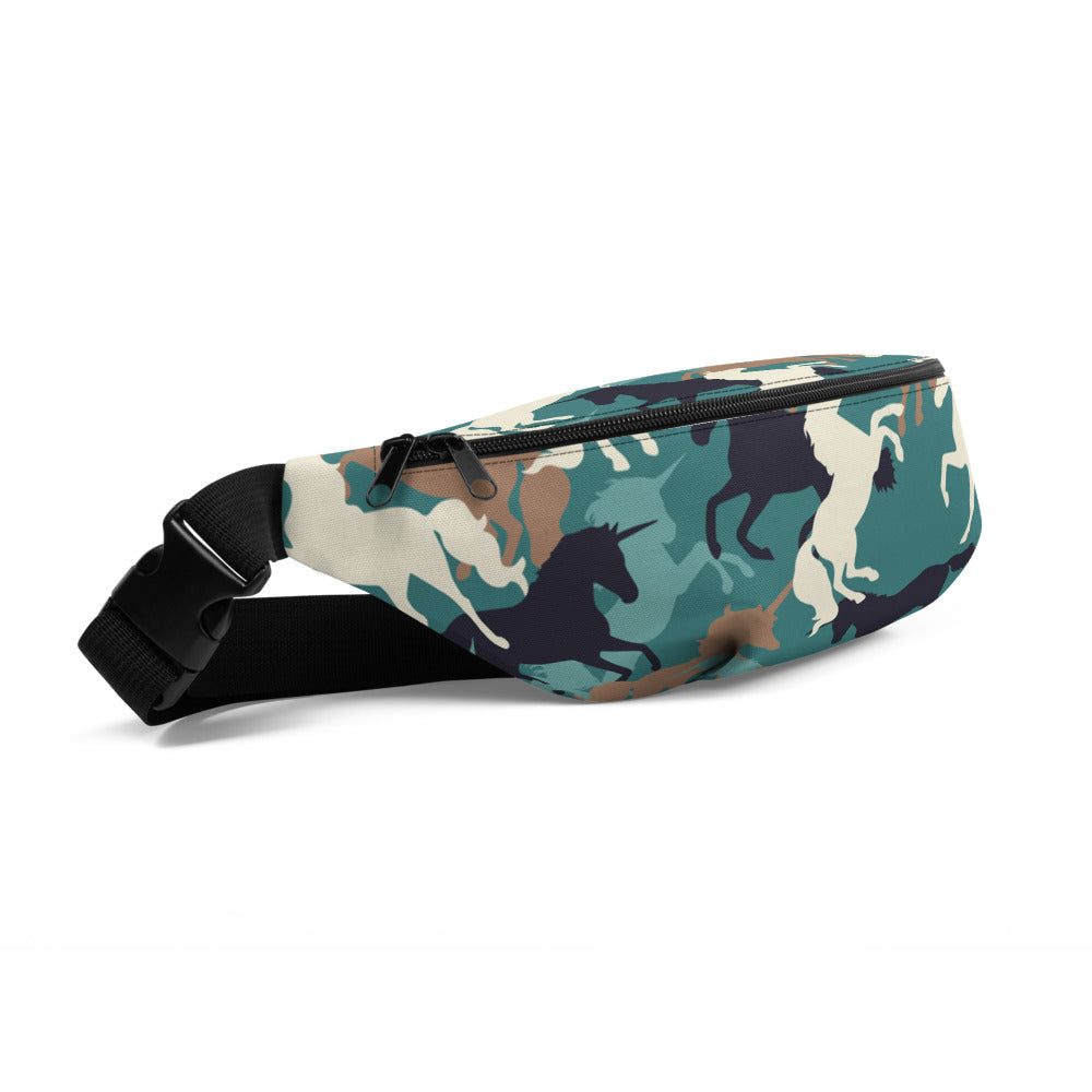 Unicorn Camo Fanny Pack by Unicorn Muscle