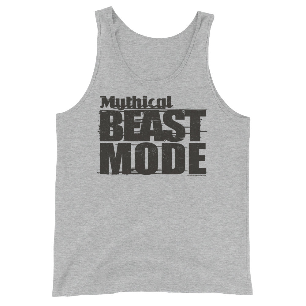 Mythical Beast Mode Men's Tank by Unicorn Muscle