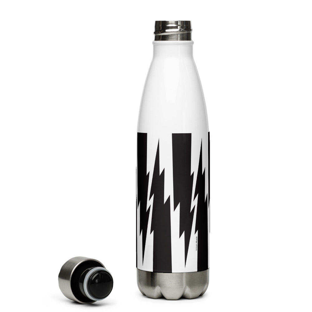 Lightning Bolts Stainless Steel Water Bottle by Unicorn Muscle