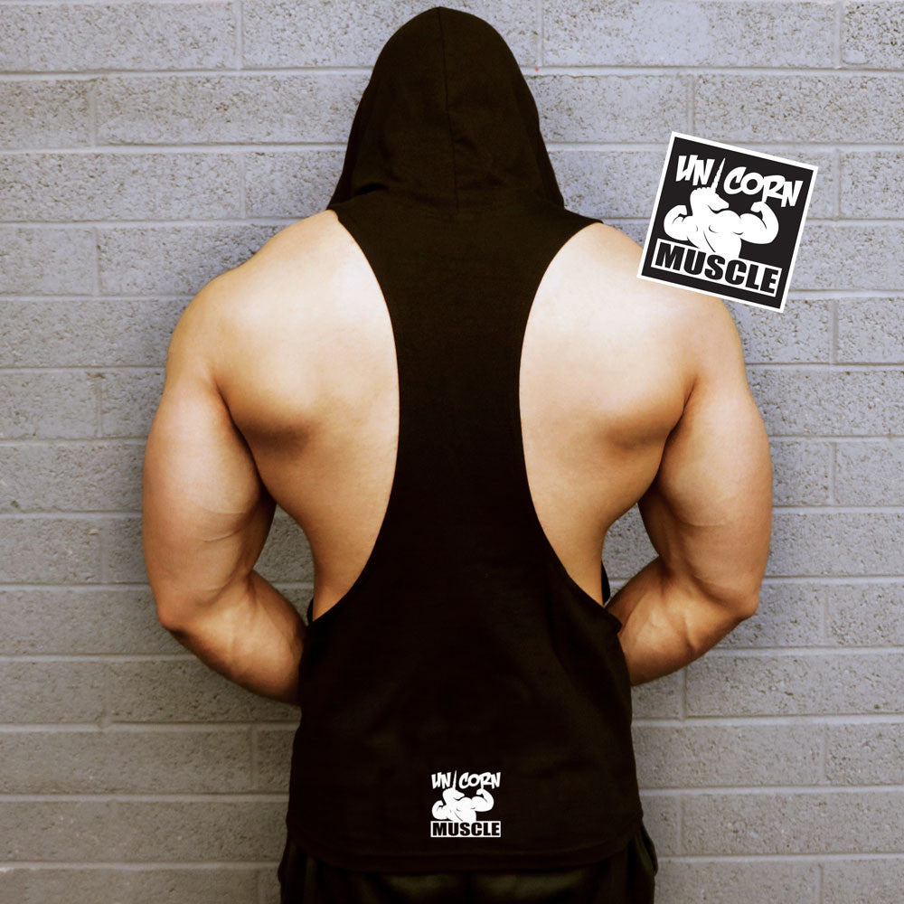 Unleash The Beast - Muscle Hoodie by Unicorn Muscle