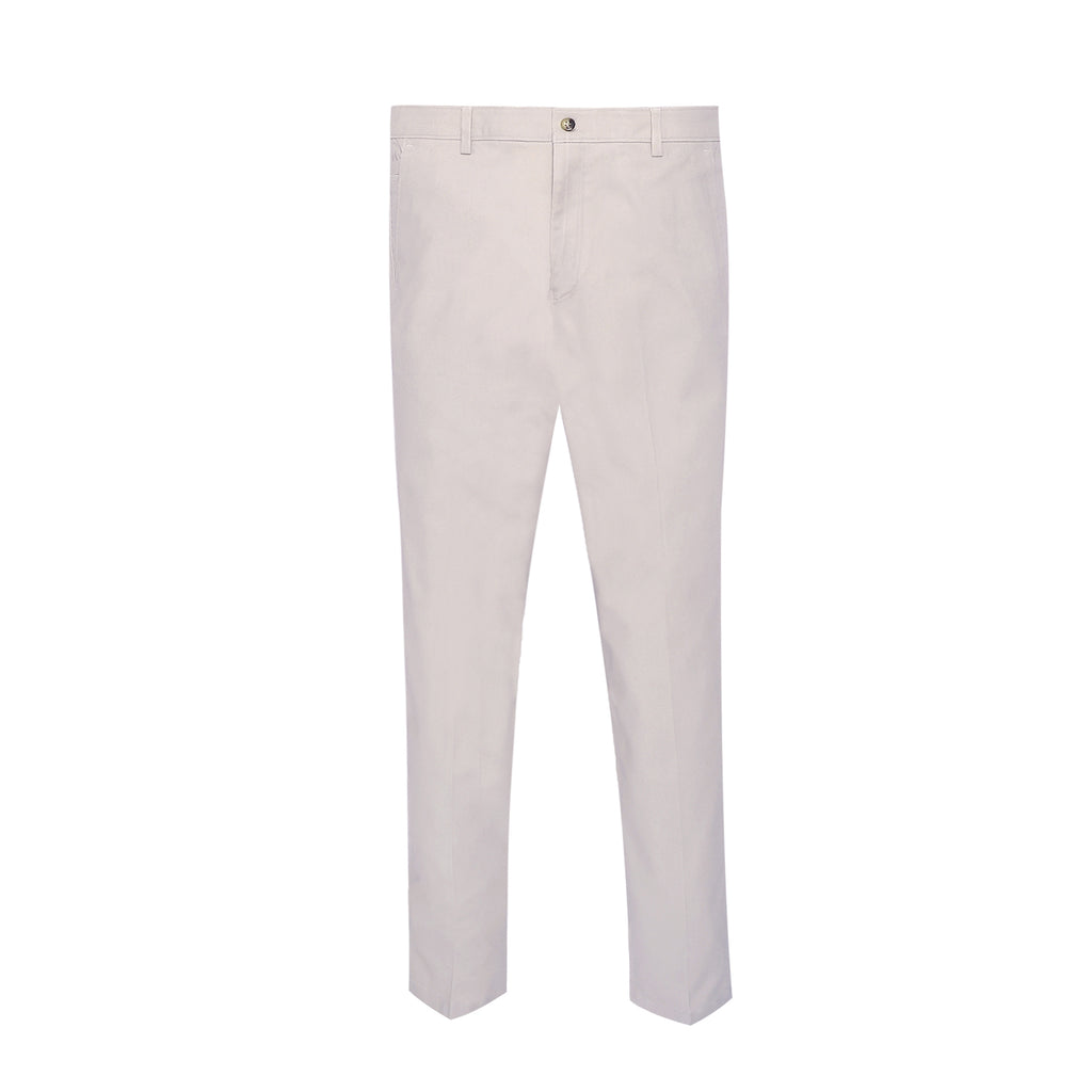 Stone Smart Fit Cotton Trouser