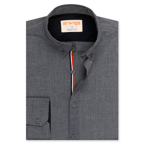 Charcoal Casual Full Sleeve Shirt