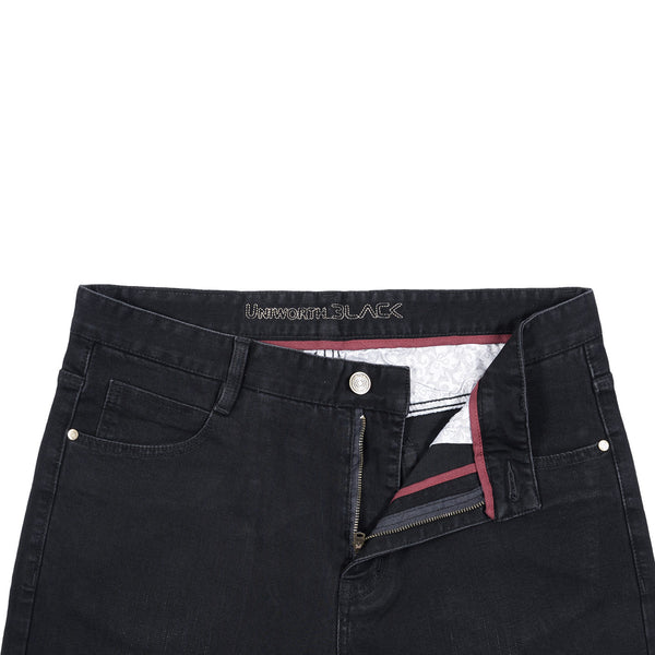 Black Smart Fit Men Denim Jeans