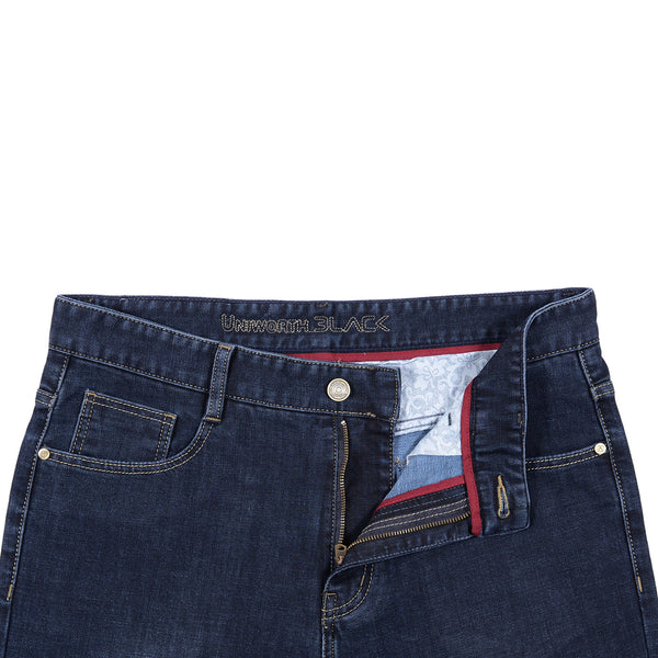 Dark Blue Smart Fit Men Denim Jean