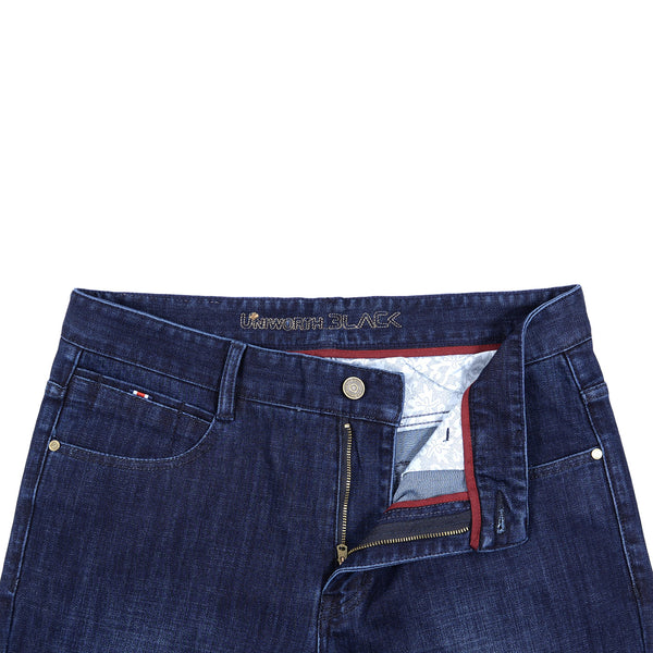 Medium Blue Smart Fit Men Denim Jeans