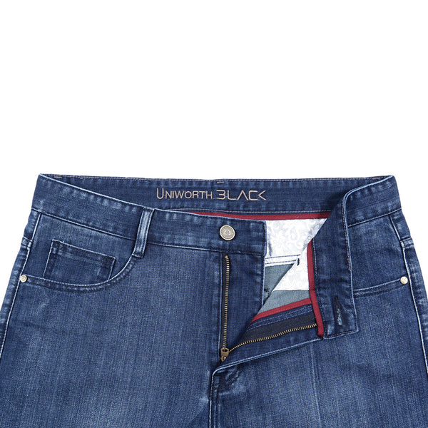 Blue Smart Fit Men Denim Jeans