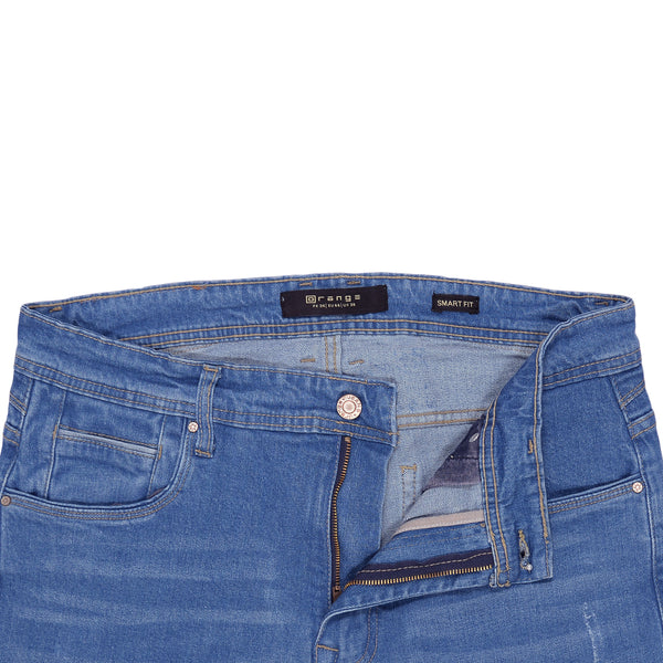 Medium Blue Smart Fit Men's Denim Jeans