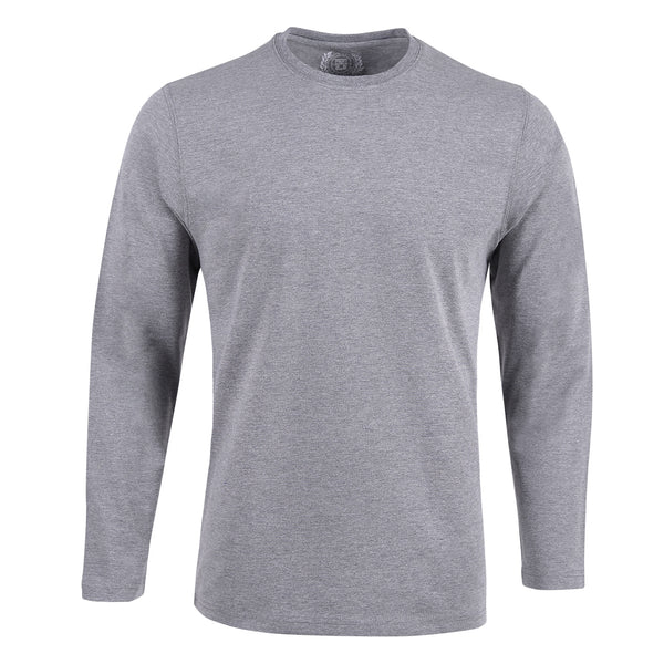 Grey Full Sleeve Knitted Relaxing Suit